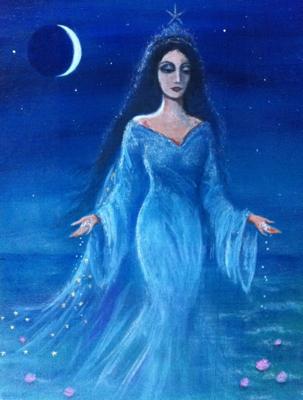 """""""Yemaya"""" by Liz Wright Ivec"""